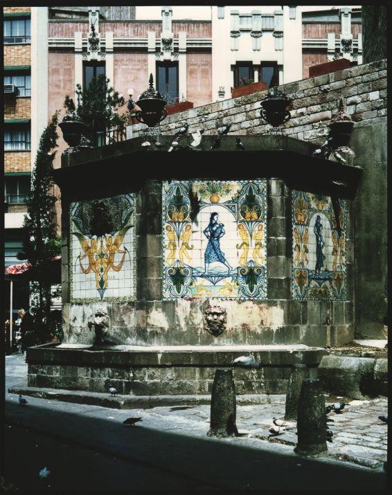 La font de la Plaça Cucurulla de Barcelona