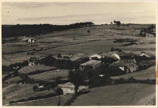 Panoràmica de Altamira al 1950
