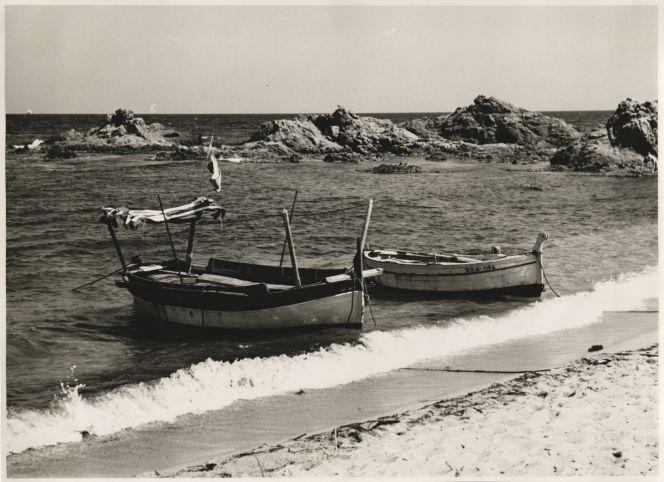 Barques a Les Cases d'Alcanar